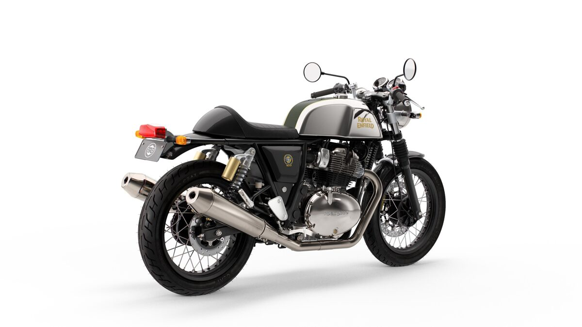 Royal Enfield Continental GT 650 EURO 5 (Mr.Clean)